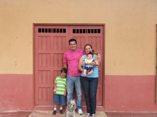 Pastor David and Family